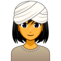 Woman Wearing Turban on emojidex 1.0.34