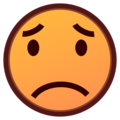 Worried Face on emojidex 1.0.34