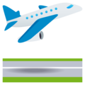 Airplane Departure on EmojiOne 4.0