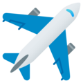 Airplane on EmojiOne 4.0