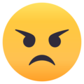 Angry Face on EmojiOne 4.0