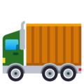 Articulated Lorry on EmojiOne 4.0