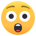 Astonished Face on EmojiOne 4.0
