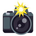 Camera With Flash on EmojiOne 4.0