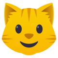 Cat Face on EmojiOne 4.0