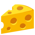 Cheese Wedge on EmojiOne 4.0