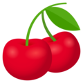 Cherries on EmojiOne 4.0