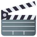 Clapper Board on EmojiOne 4.0