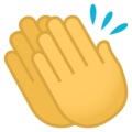 Clapping Hands on EmojiOne 4.0