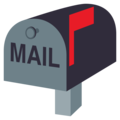 Closed Mailbox With Raised Flag on EmojiOne 4.0