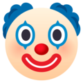 Clown Face on EmojiOne 4.0