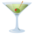 Cocktail Glass on EmojiOne 4.0
