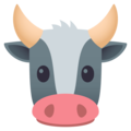 Cow Face on EmojiOne 4.0