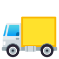 Delivery Truck on EmojiOne 4.0