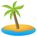 Desert Island on EmojiOne 4.0
