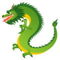 Dragon on EmojiOne 4.0