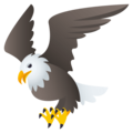 Eagle on EmojiOne 4.0