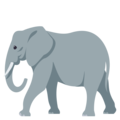 Elephant on EmojiOne 4.0