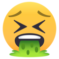 Face Vomiting on EmojiOne 4.0