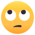 Face With Rolling Eyes on EmojiOne 4.0