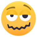 Woozy Face on EmojiOne 4.0