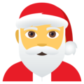 Santa Claus on EmojiOne 4.0