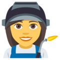 Woman Factory Worker on EmojiOne 4.0
