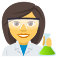 Woman Scientist on EmojiOne 4.0