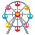 Ferris Wheel on EmojiOne 4.0