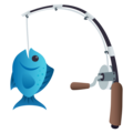 Fishing Pole on EmojiOne 4.0
