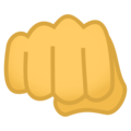 Oncoming Fist on EmojiOne 4.0