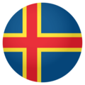 Flag: Åland Islands on EmojiOne 4.0
