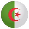 Flag: Algeria on EmojiOne 4.0