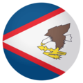Flag: American Samoa on EmojiOne 4.0