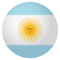 Argentina on EmojiOne 4.0