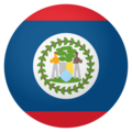 Flag: Belize on EmojiOne 4.0