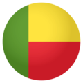 Flag: Benin on EmojiOne 4.0