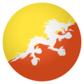 Flag: Bhutan on EmojiOne 4.0