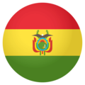 Flag: Bolivia on EmojiOne 4.0