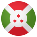 Flag: Burundi on EmojiOne 4.0