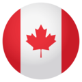 Flag: Canada on EmojiOne 4.0