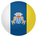 Canary Islands on EmojiOne 4.0