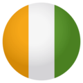 Flag: Côte d'Ivoire on EmojiOne 4.0