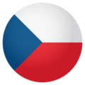 Flag: Czechia on EmojiOne 4.0