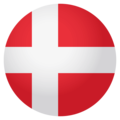 Flag: Denmark on EmojiOne 4.0