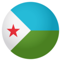 Flag: Djibouti on EmojiOne 4.0