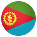 Flag: Eritrea on EmojiOne 4.0