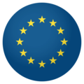 Flag: European Union on EmojiOne 4.0