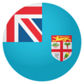 Flag: Fiji on EmojiOne 4.0