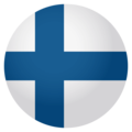 Flag: Finland on EmojiOne 4.0